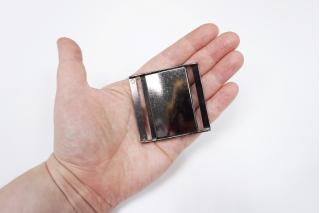 Пряжка-замок металл темный никель 54х53 мм-(S)- 06122019