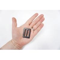 Пряжка пластик черная 41х30 мм-(R)- 06122021