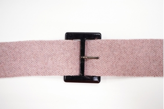 Пряжка пластик черная 70х50 мм-(R)- 21122017