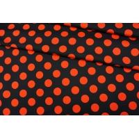 Плательный хлопок красный горох PRT-G3 04022012