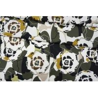 Плательный хлопок абстрактные цветы PRT-G3 04022013
