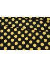 Плательный хлопок желтый горох PRT-G7 04022014