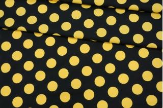 Плательный хлопок желтый горох PRT-G3 04022014