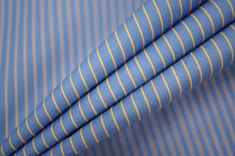 Поплин рубашечный в полоску PRT-F5 04022027
