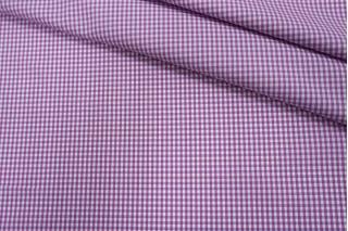 Рубашечный поплин в розово-синюю клетку PRT-F5 17012003