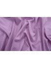 Рубашечный поплин в розово-синюю клетку PRT-B60 17012003