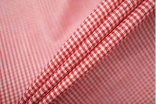 Рубашечный хлопок в красно-белую клетку PRT-E4 17012005