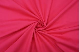 Поплин рубашечный насыщенно-малиновый PRT-F4 17012011