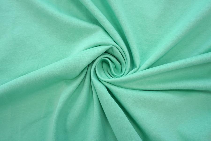 Футер тонкий насыщенный мятно-зеленый 2-х нитка IDT-Y30 03082013