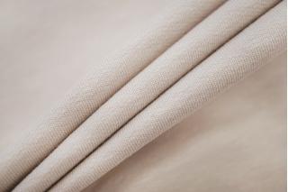 Футер тонкий бледный розовато-бежевый 2-х нитка IDT-X4 03082014