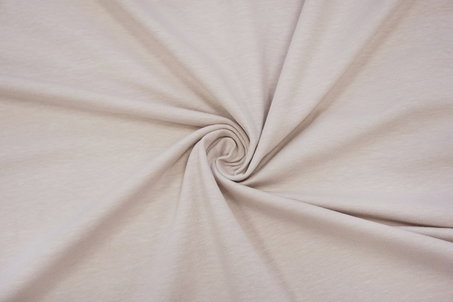 Футер тонкий бледный розовато-бежевый 2-х нитка IDT.H-S10 03082014