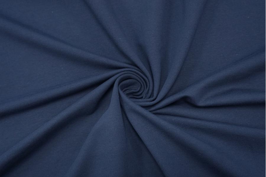 Футер тонкий темно-синий 2-х нитка IDT-X6 03082022