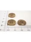 Пуговица пластик песочно-серая 15 мм PRT 04032007