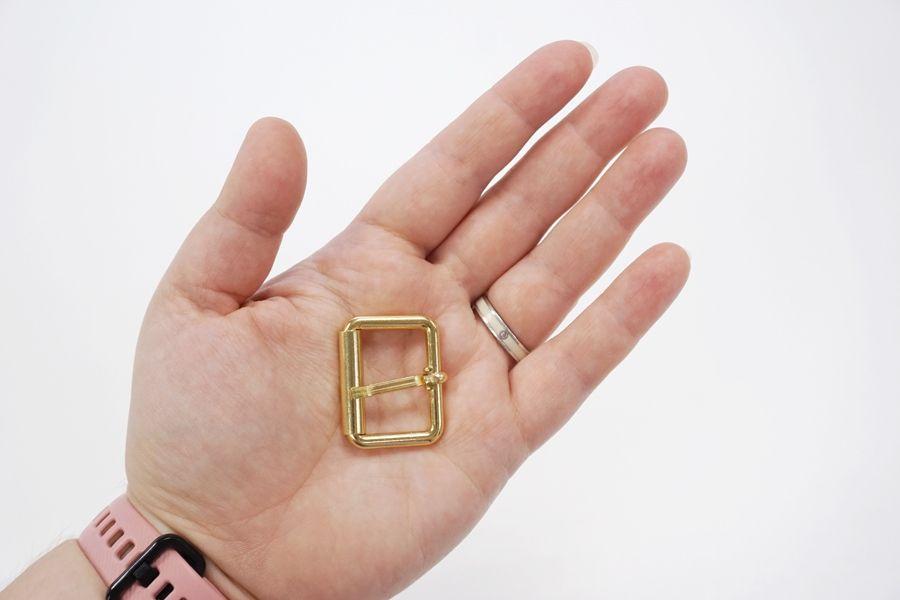 Пряжка металл золотистая 30х20 мм PRT-(T)- 04032008