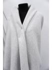 Футер с начесом светло-серый меланж 3-х нитка CVT-M3 04082019
