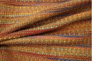 Твид хлопковый разноцветный в стиле шанель LEO-D1 04092001