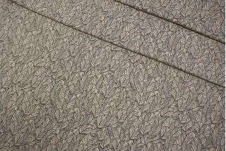 Трикотаж замшевый бежевый перья LEO Z2 04092009