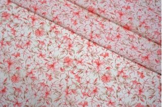 Поплин рубашечный фламинго LEO-X3 04092011