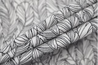 Трикотаж хлопковый перья LEO-W1 04092012