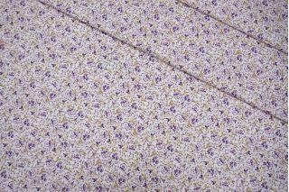Костюмно-плательная джинса цветы LEO-X3 04092015
