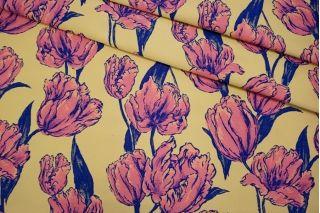 Жаккард тюльпаны LEO-D1 04092024