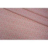 Поплин рубашечный цветы LEO-G6 04092026