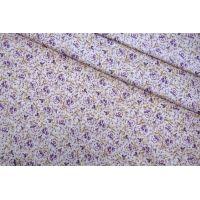 Трикотаж хлопковый цветы LEO 04092028