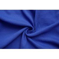 ОТРЕЗ 0,55 М Трикотаж кашкорсе пенье чулок синий CTN-(45)-19082010-1