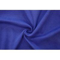 ОТРЕЗ 1,5 М Трикотаж кашкорсе пенье чулок синий CTN-(45)- 19082018-2