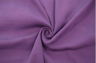 Трикотаж кашкорсе пенье чулок фиолетовый CTN-N4 19082020