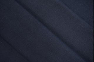 Трикотаж рибана пенье плотный темно-синий CTN-W3 19082027
