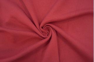Трикотаж рибана пенье плотный приглушенно-красный CTN.H-W2 19082028