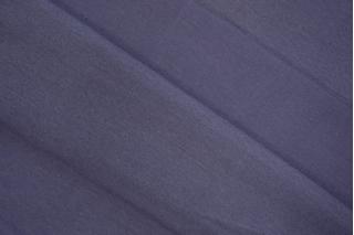 Трикотаж рибана пенье плотный сиреневато-серый CTN-X3 19082032