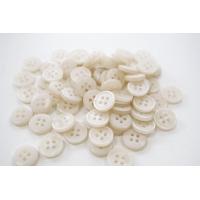 Пуговица плательно-рубашечная пластик белый бежеватый перламутр 10 мм PRT-(P)- 24082074