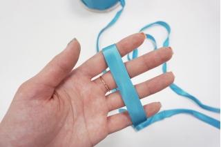 Косая бейка ацетатная 15 мм голубая PRT 25082027 к01