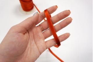 Косая бейка 8 мм красно-оранжевая PRT 25082031 к01
