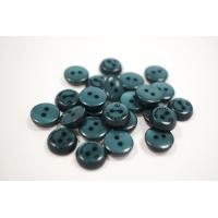 """Пуговица плательно-рубашечная """"Tarmanuda"""" пластик зелено-бирюзовый перламутр 11 мм PRT-(O)- 26082021"""