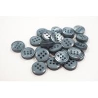 Пуговица плательно-рубашечная пластик серо-голубой перламутр 12 мм PRT-(O)- 26082023
