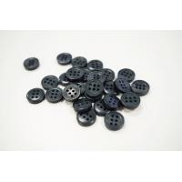 Пуговица плательно-рубашечная пластик черно-синий перламутр 12 мм PRT-(O)- 26082029