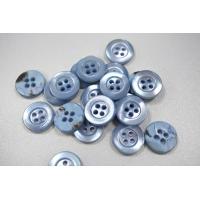 Пуговица рубашечно-плательная сиреневато-голубая перламутр 12 мм PRT-(O)- 26082088