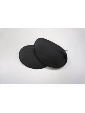 Плечевые накладки (подплечники) обшитые реглан р.10 черные 26092002