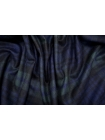 Костюмная шерсть в клетку сине-зеленая TXH.H-DD40 28092012