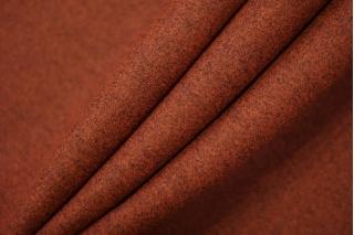 Шерсть пальтовая красный дабл би-стрейч TXH-DD3 28092013