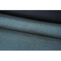 ОТРЕЗ 2,2 М Шерсть пальтовая серый-ментол дабл би-стрейч TXH-(64)- 28092014-1
