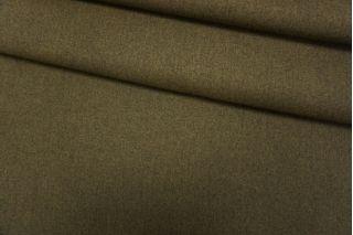 Шерсть пальтовая зеленый хаки дабл би-стрейч TXH-T5 28092022