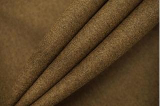 Шерсть пальтовая горчично-коричневая дабл би-стрейч TXH-T4 28092025