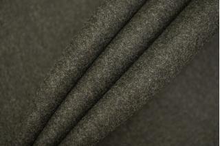 Шерсть пальтовая неярко-зеленая дабл би-стрейч TXH-T3 28092027