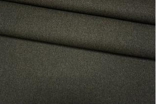 Шерсть пальтовая неярко-зеленая дабл би-стрейч TXH.H-EE70 28092027