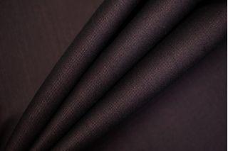 Костюмно-плательная шерсть с шелком темно-сливовая TXH-B7 28092039