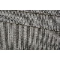 Твид-шанель хлопковый елочка черно-белый NST.H-F70 31082023
